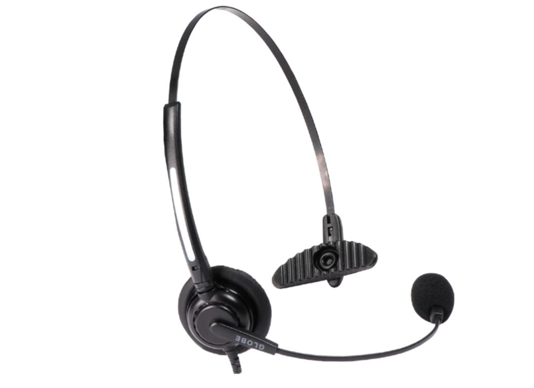 AXIWI HE-001 headsett med mikrofon